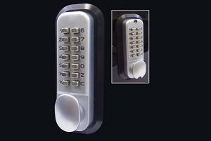 All-Weather Double Keypad Mechanical Keyless Door Lock by Code-a-Key