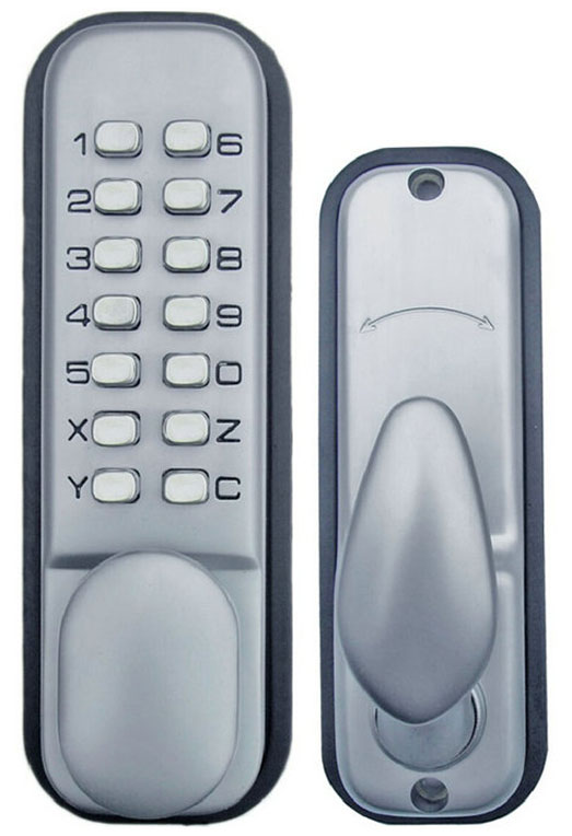 All-Weather Double Keypad Mechanical Keyless Door Lock