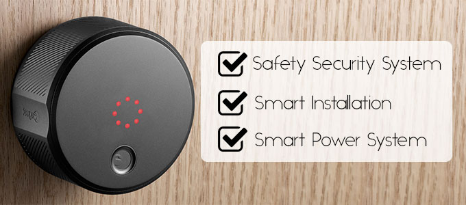 August Smart Keyless Home Entry lock advantage