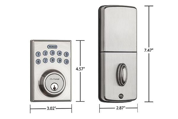 Kwikset 92640-001 Contemporary Electronic Keypad Single