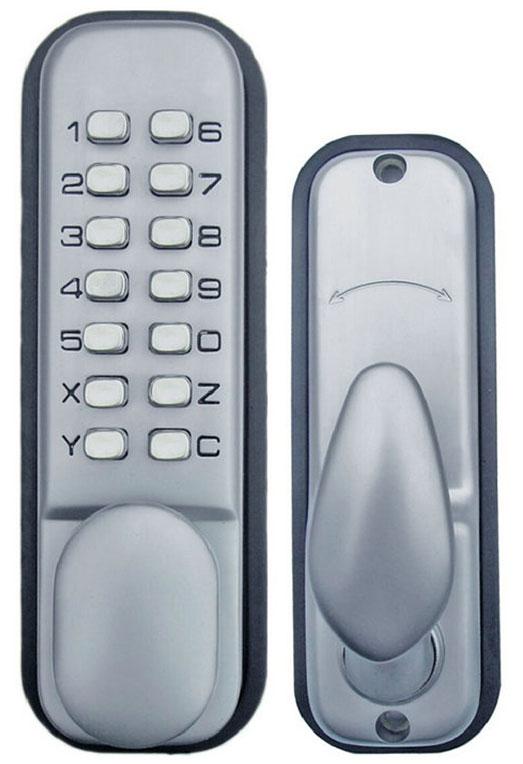 All-Weather Double Keypad Mechanical Keyless Door Lock