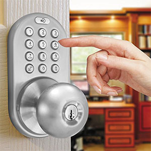 MiLocks DKK-02SN Indoor Electronic Touchpad Keyless Entry Door Lock