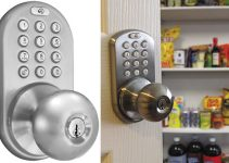 MiLocks DKK-02SN Indoor Electronic Touchpad Keyless Entry Door Lock