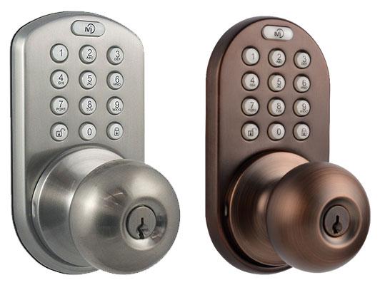 MiLocks DKK-02SN Indoor Electronic Touchpad Keyless lock