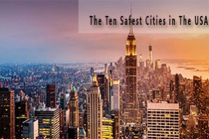 Featured Image of The Ten Safest Cities in The USA